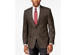 Lauren Ralph Lauren  - Olive Multi Plaid Classic-Fit Sport Coat