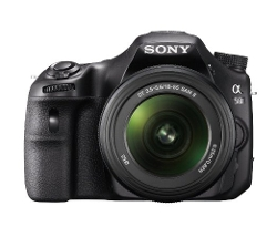 Sony - SLT-A58K Digital SLR Camera