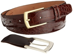 Trafalgar - Genuine Alligator Belt