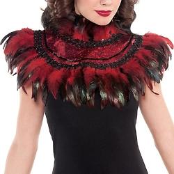 Party City - Fire Bird Feather Collar