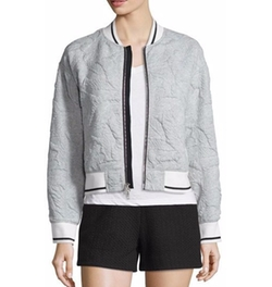 Rag & Bone - Leaf-Quilted Bomber Jacket