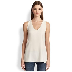 Brunello Cucinelli - Silk Tank Top