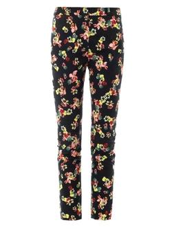 Erdem - Merlinda St. Gall Garden Print Trousers