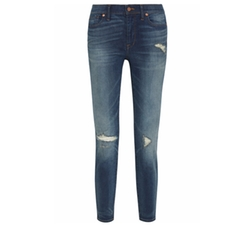 Madewell - High Riser Distressed Skinny Jeans