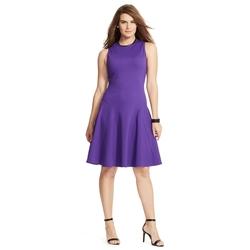 Lauren Woman - Flared Sleeveless Dress