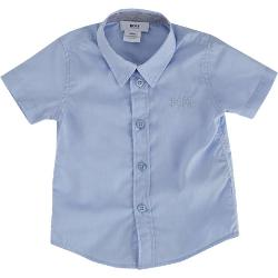 Hugo Boss  - Short Sleeve Broadcloth Shirt