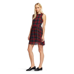 K by Kersh - Plaid A Line Dress