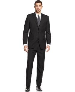 Alfani - Black Solid Suit