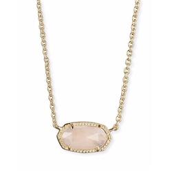Kendra Scott - Elisa Rose Quartz Necklace