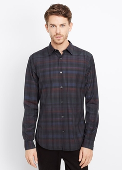 Vince - Melrose Multi Plaid Button Up Shirt