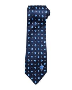 Versace - Circle and Square Silk Tie