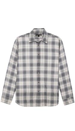 John Varvatos Star USA  - Basic Point Collar Shirt