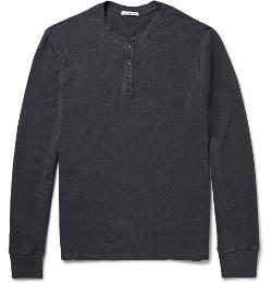 James Perse - Supima Cotton Henley T-Shirt