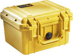 Pelican - 1300 Case with Foam for Camera - Yellow