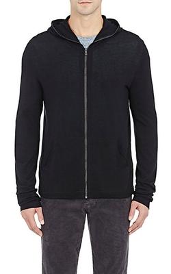 Vince - Zip-Front Hoodie Jacket