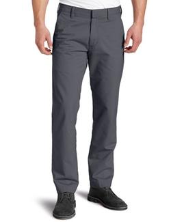 Haggar - Slim-Fit Flat-Front Pants