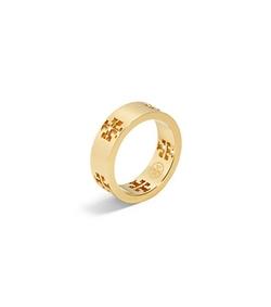 Tory Burch - Pierced-T Ring