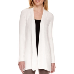 Worthington - Open Front Cardigan