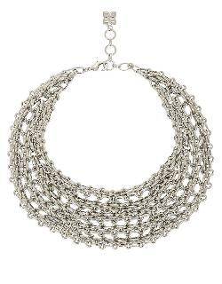 BCBGMAXAZRIA  - Interlock Chain Bib