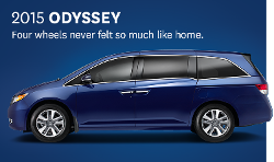Honda - Odyssey Van