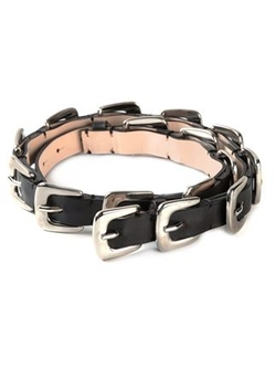 Maison Margiela   - Multi Buckle Belt
