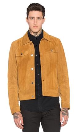 Blk Dnm  - Suede Jeans Jacket