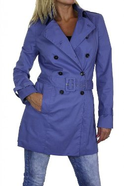 Ice - Fully Lined Trench Coat