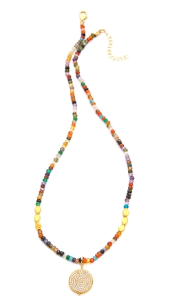 Mary Louise Designs - Beaded Pendant Necklace