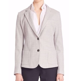 Eleventy  - Tweed Two-Button Jacket