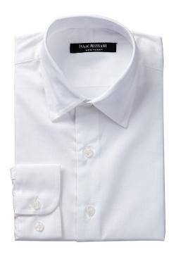 Isaac Mizrahi - Solid Dress Shirt