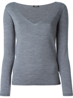 Aspesi - Deep V-Neck Sweater