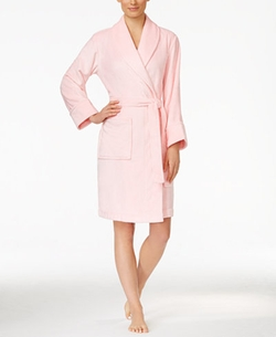 Charter Club - Soft Shawl Collar Short Robe