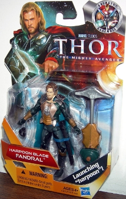 Go Figure Action Figures - Harpoon Blade Fandra Toy