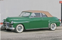 Plymouth  - 1949 Special Deluxe Convertible Car