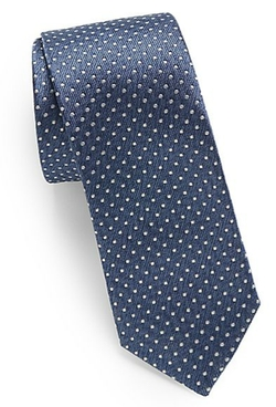 Original Penguin - Stefan Polka Dot Silk Tie