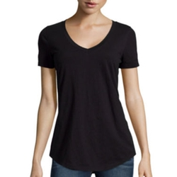 Stylus - Relaxed Fit Slub V-Neck T-Shirt