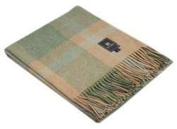 Alpaca Warehouse - Baby Alpaca & Pima Cotton Woven Fringed Throw Blanket