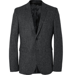 Acne Studios  - Aron Slim-Fit Wool-Tweed Suit Jacket