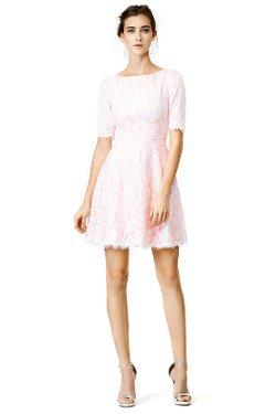 ML Monique Lhuillier  - Blushing Envy Dress