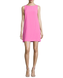 Trina Turk - Kyhle Sleeveless Split-Back Shift Dress