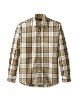 Kenneth Gordon - Plaid Button Down Sportshirt