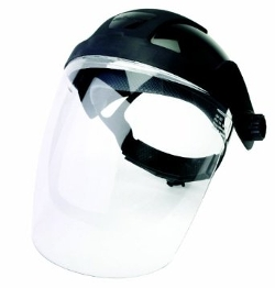 Sellstrom - Standard Black Crown Face Shield