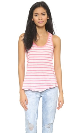 Sundry - Jersey Stripes Tank Top