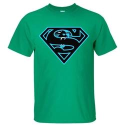 SKKE - Carolina Panthers Superman Shirt