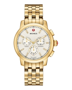 Michele - Three-Hand Chronograph Watch