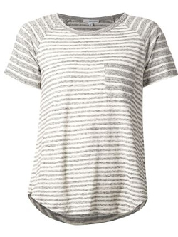 James Perse - Striped Raglan T-Shirt