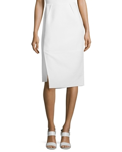 Lafayette 148 New York  - Sarah Asymmetric Pencil Skirt