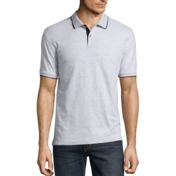Claiborne - Interlock Solid Polo Shirt
