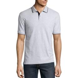 Claiborne - Interlock Solid Polo Shirt