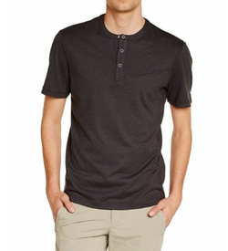 Spyder - Bolt Short Sleeve Henley Shirt